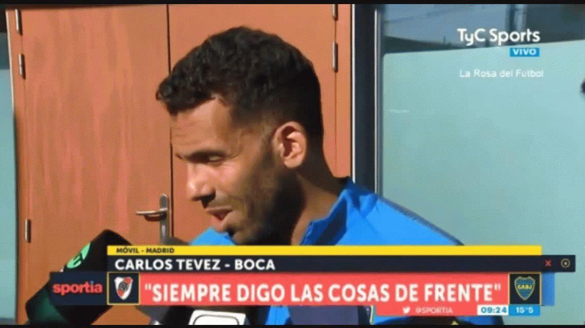 A tres días de la final, Tevez explotó y no tuvo filtro contra la Conmebol