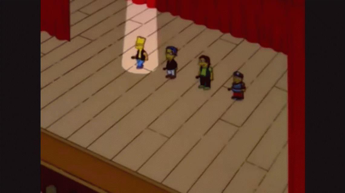 Los Simpson cantan a Rodrigo: el viral del día