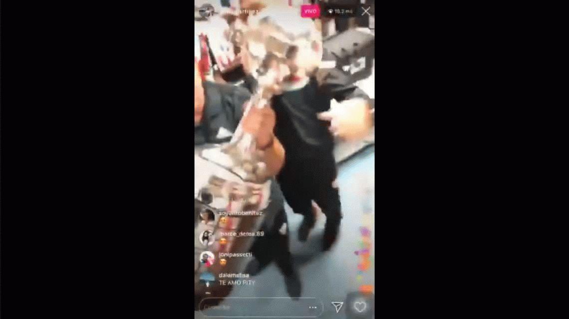 En el vestuario de River cantaron contra Macri