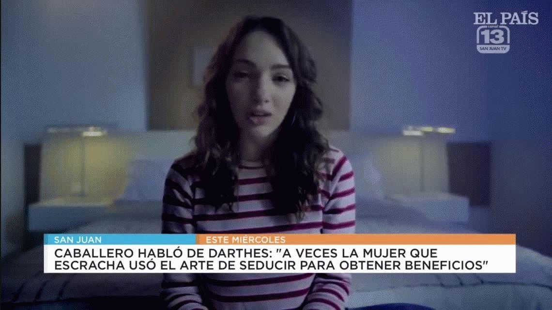 Deleznable: un juez de San Juan deslizó que Thelma Fardin usó el arte de seducir con Darthés
