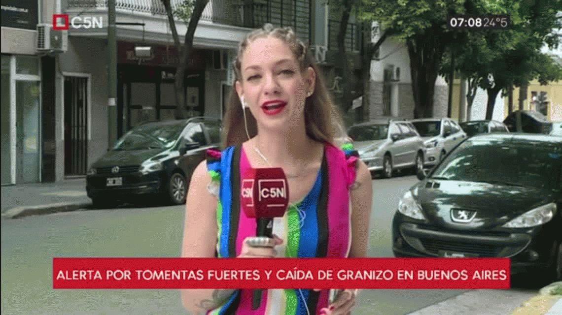 Alerta meteorológico: posible caída de granizo en la Ciudad