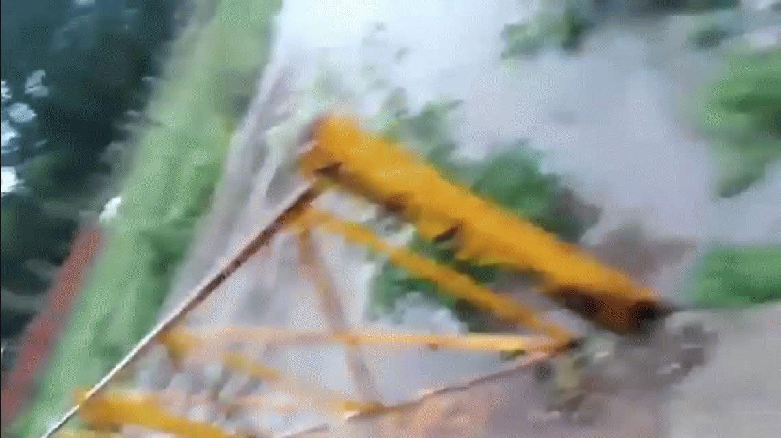VIDEOS: Así llueve en la Ciudad y el Conurbano