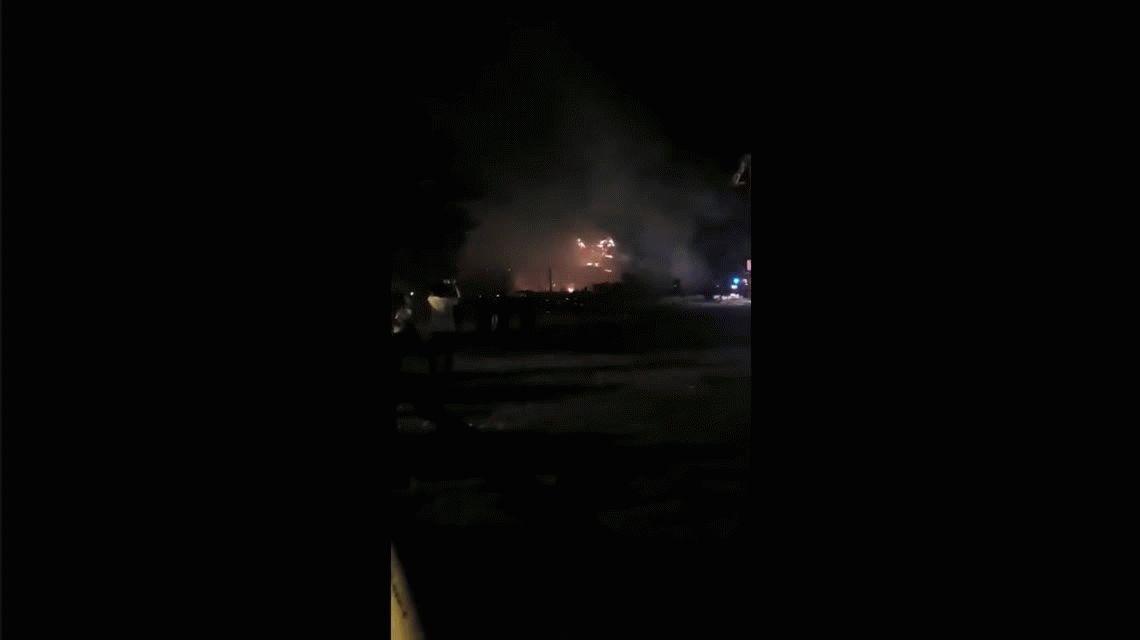 Martínez: se incendió el restaurante La Ventola