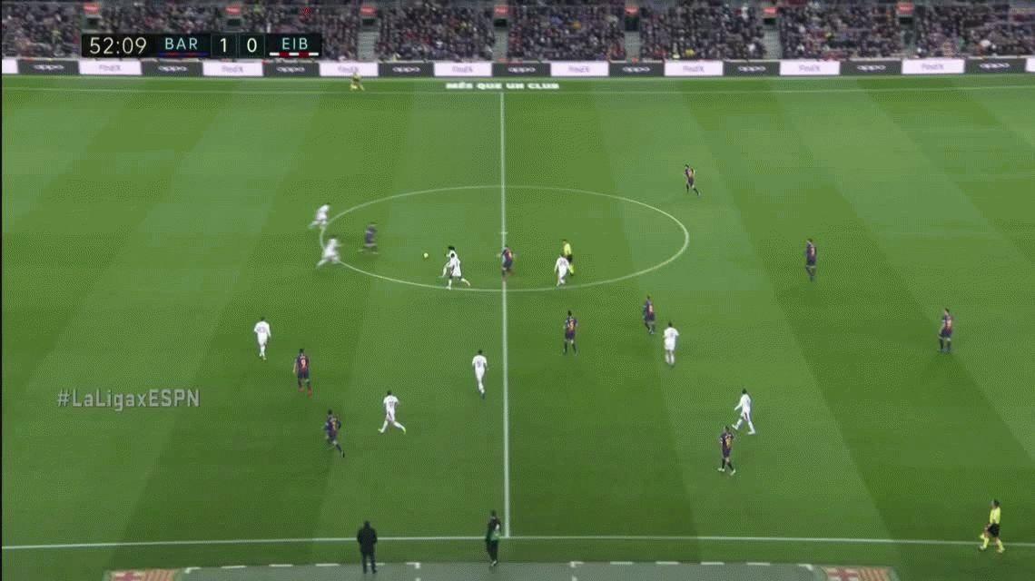 Messi marcó su gol 400 para el Barcelona