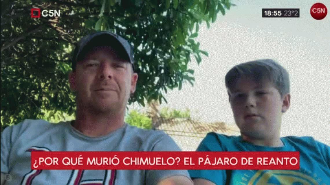 Los dueños de Chimuelo cuentan de qué murió el pájaro y cómo le hicieron la canción del adiós