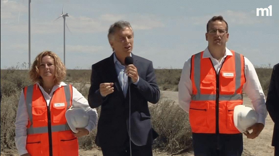 Macri visitó Chubut  y reafirmó el rumbo del Gobierno: El camino es por acá