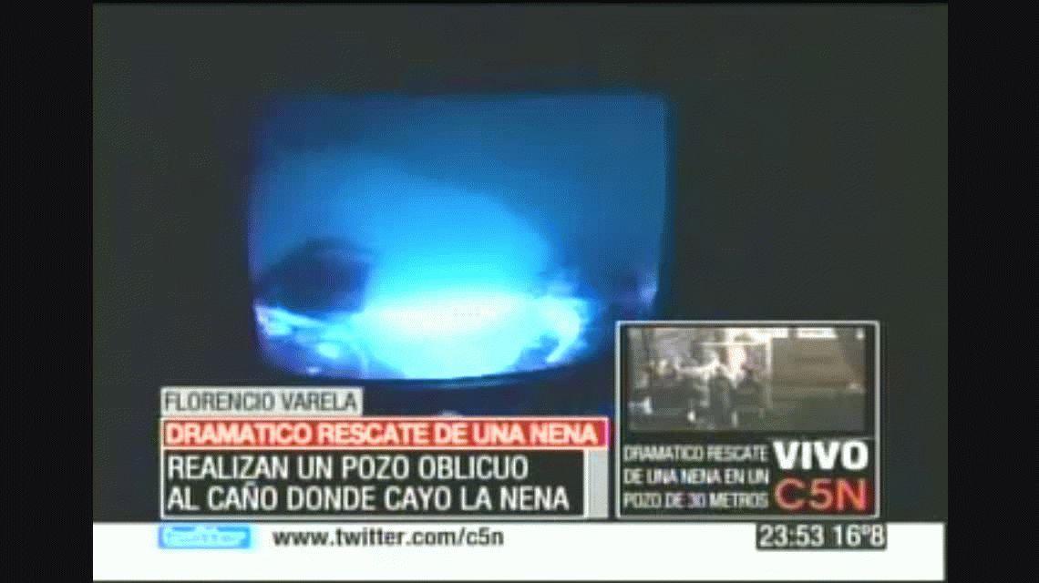 Julen está en manos de Dios, como Vanesa: así sacaron de un pozo a una nena argentina en 2010