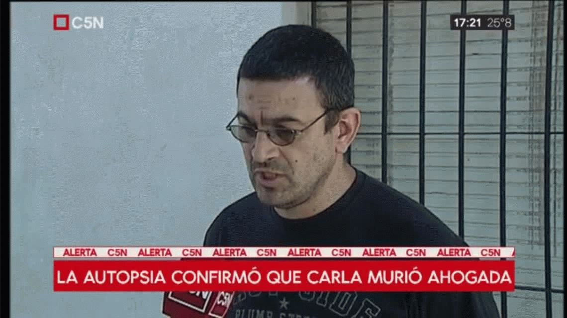 El papá de Carla quiere saber si su hija se desorientó como secuela de la agresión de su marido
