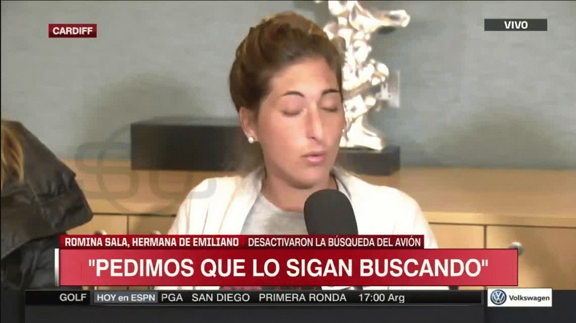Desgarrador testimonio de la hermana de Emiliano Sala: Siento que están vivos y nos están esperando