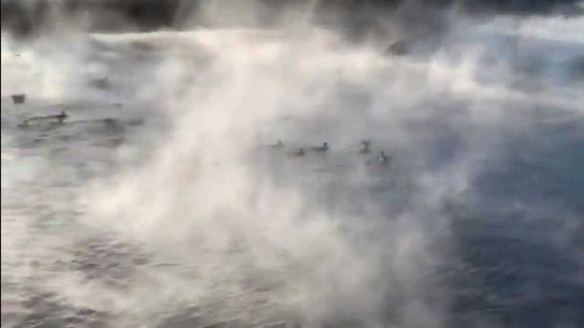 El medio oeste de los Estados Unidos quedó congelado por una ola de frío polar