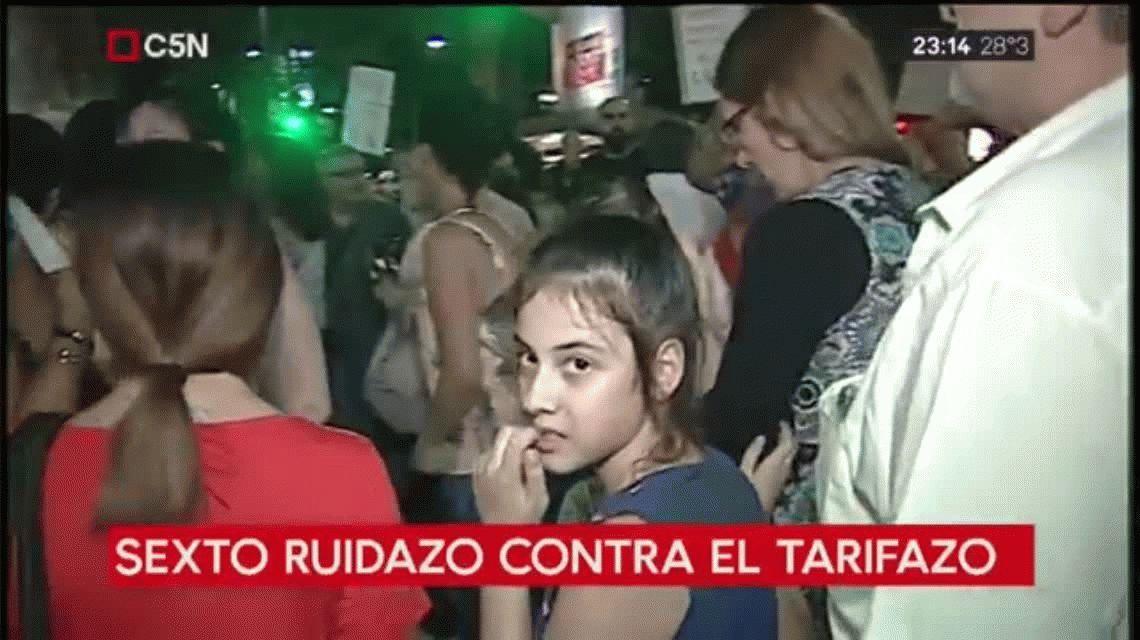 Otro ruidazo nacional contra el tarifazo y el ajuste del gobierno de Macri