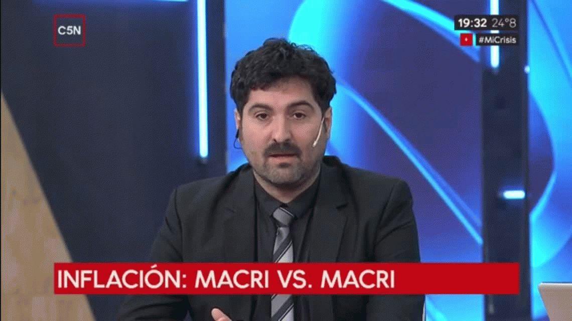 Inflación Macri vs. Macri