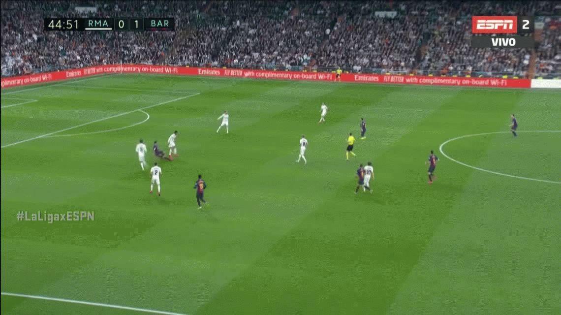 El tenso momento de Lionel Messi y Sergio Ramos