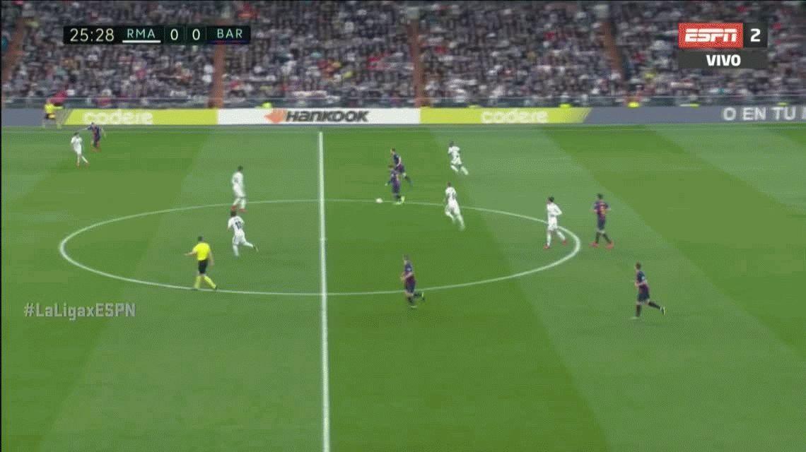 Con un golazo de Rakitic, Barcelona le ganó por segunda vez en cuatro días al Real Madrid