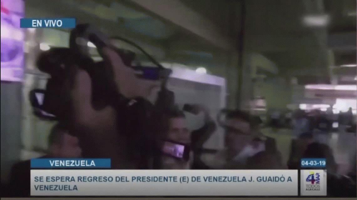Guaidó volvió a Venezuela: Tierra amada