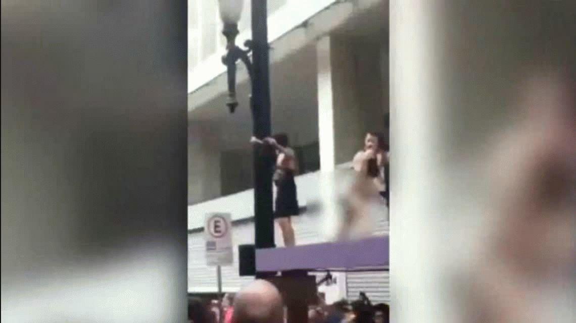El obsceno video que Jair Bolsonaro publicó en Twitter en contra del carnaval