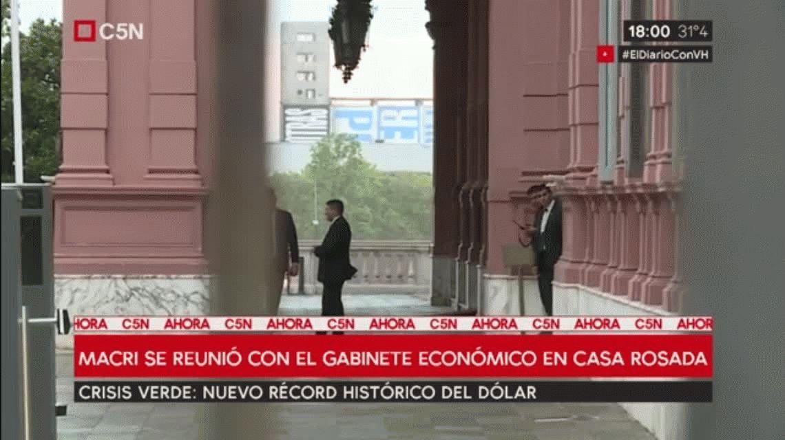 Macri, Dujovne y Lopetegui se reunieron en Casa Rosada
