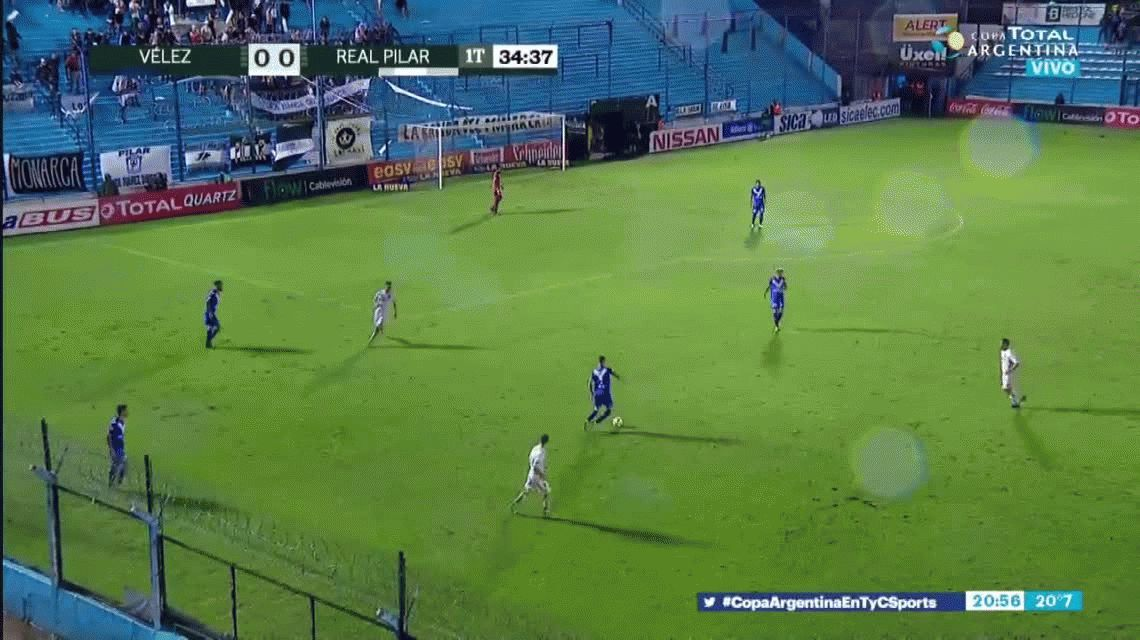 Papelón de Vélez: Real Pilar, el club más joven del país, lo eliminó de la Copa Argentina