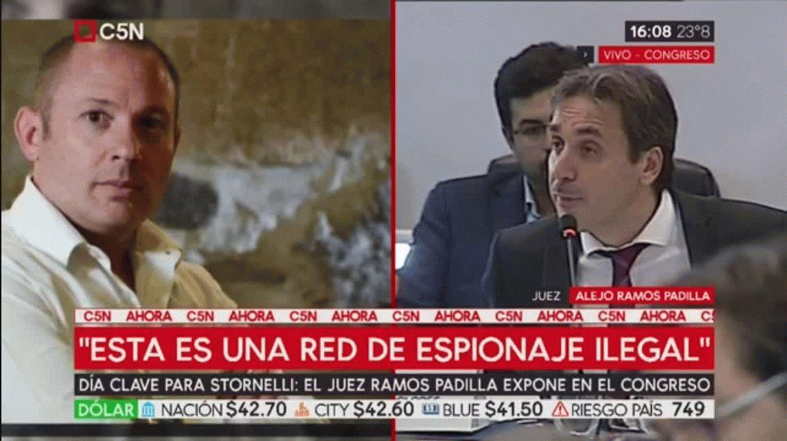 Ramos Padilla: Por la denuncia contra Stornelli, descubrimos una red de espionaje judicial de magnitudes