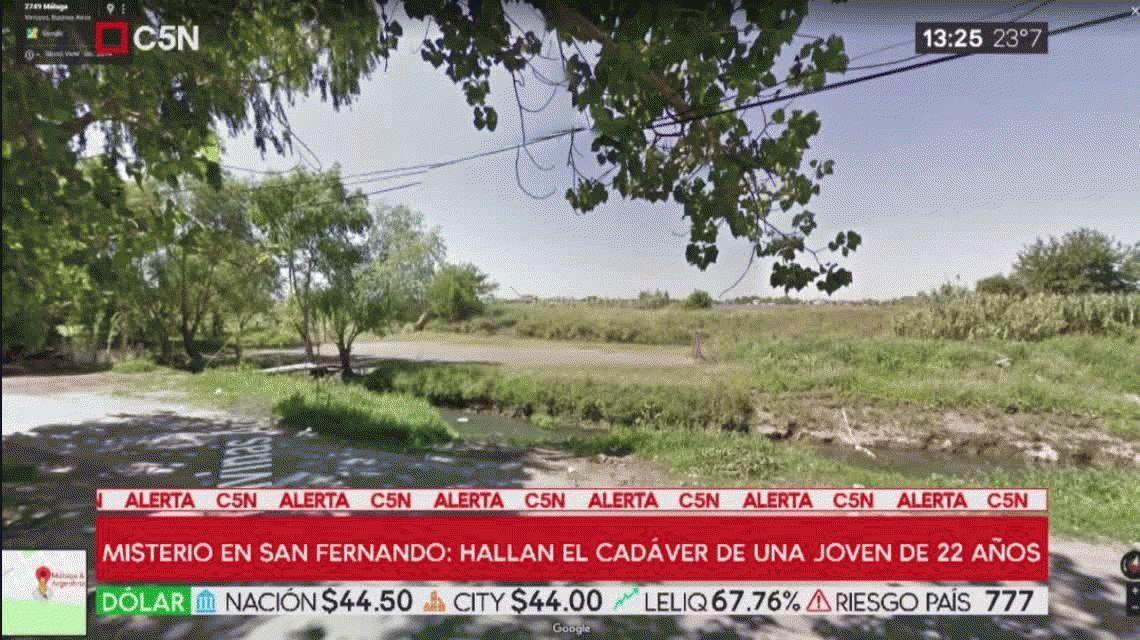 San Fernando: hallaron el cadáver de una joven de 22 años, desnuda, sin cabello y envuelta en una colcha