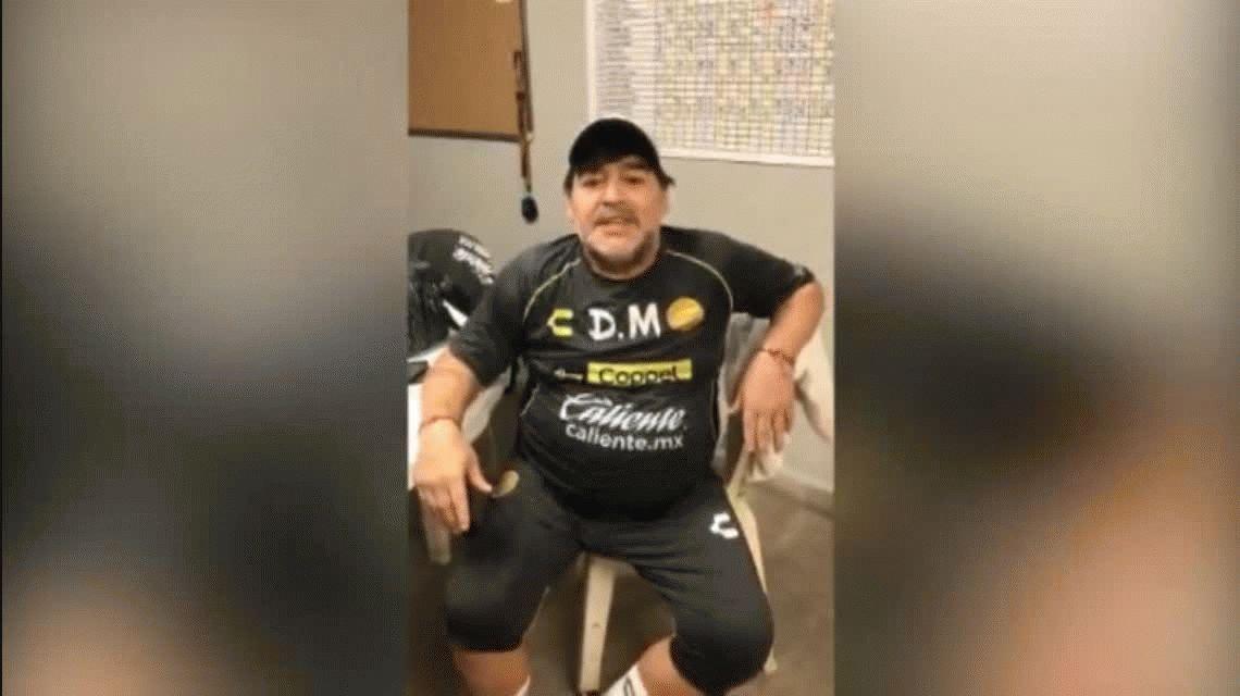 Maradona saludó a Boca por su cumpleaños y abrió la puerta: ¿vuelve?