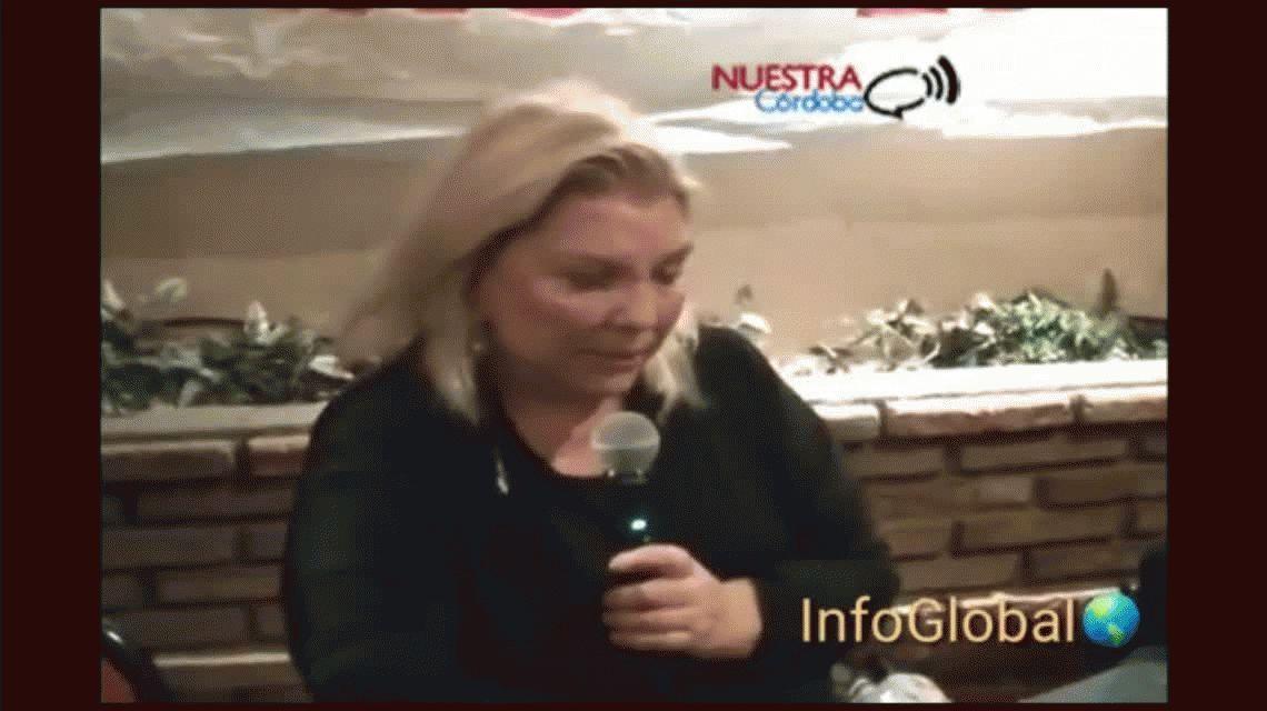 El exabrupto de Elisa Carrió: Gracias a Dios murió De la Sota