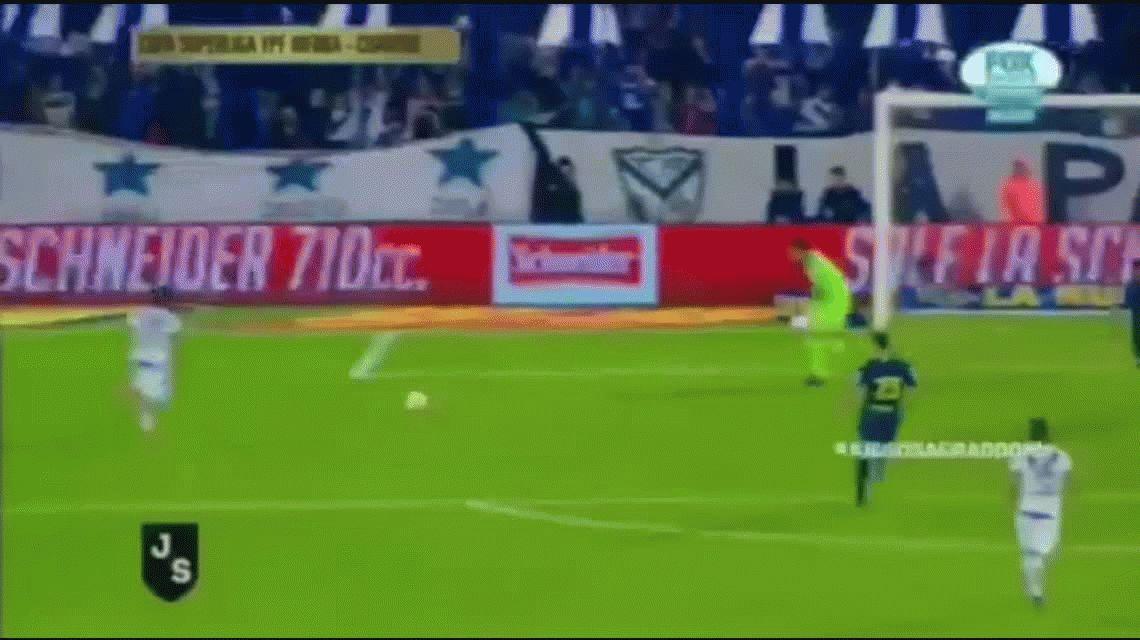 El sorpresivo gesto de Mauro Zárate para mufar a Vélez en pleno partido