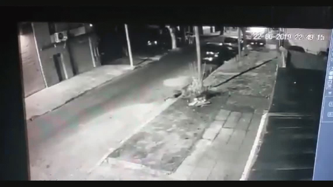 VIDEO: Así escaparon los presuntos asesinos del policía en Villa Madero