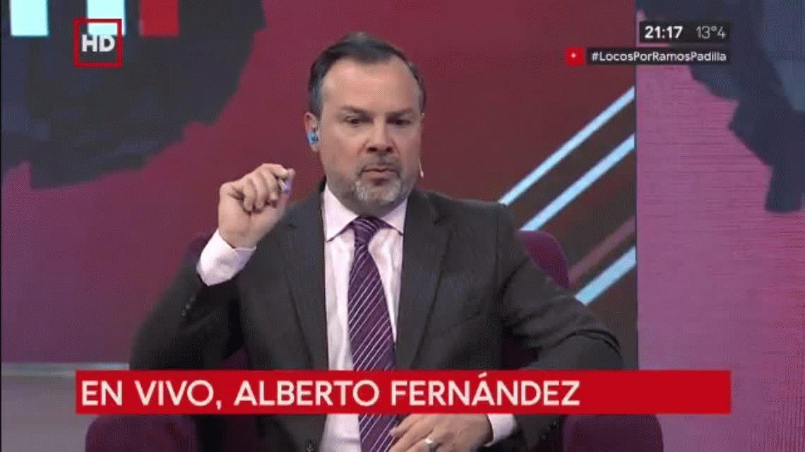 Alberto Fernández en C5N: Le pedí al FMI que no tire más dólares al saco roto de las finanzas de Macri