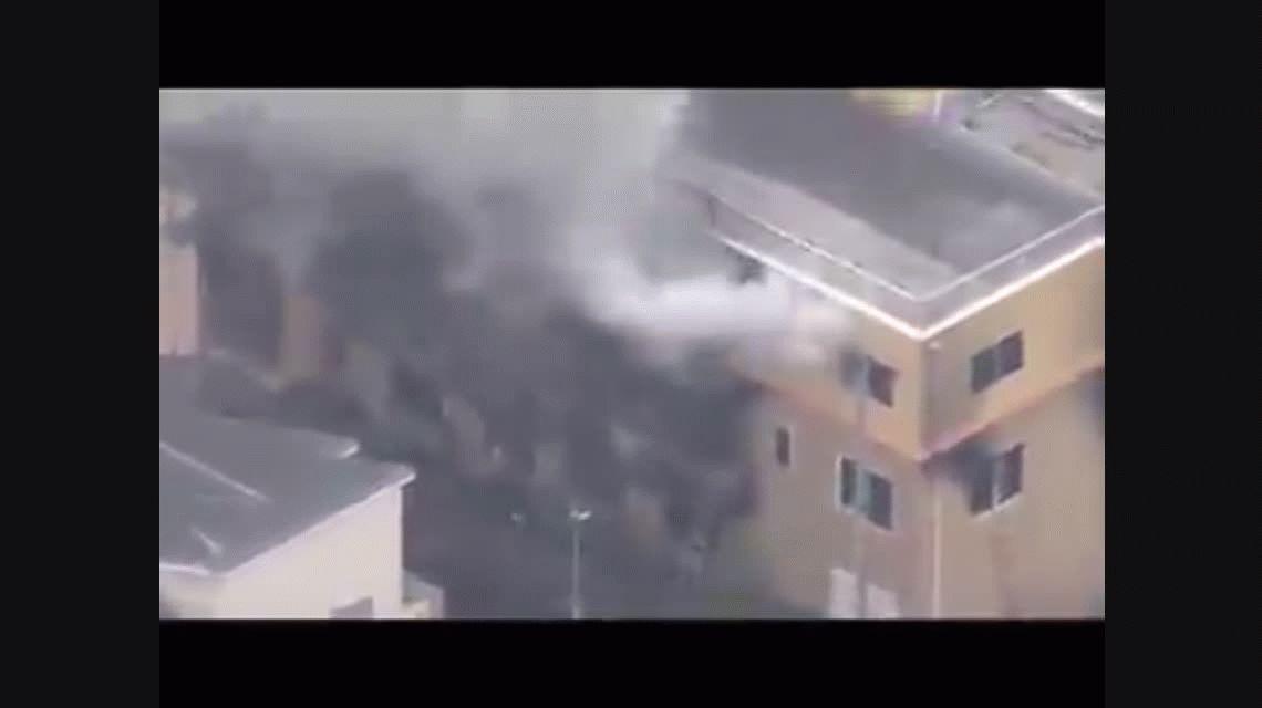 Kyoto Animation: un hombre provocó un incendio en Japón y fallecieron al menos 24 personas
