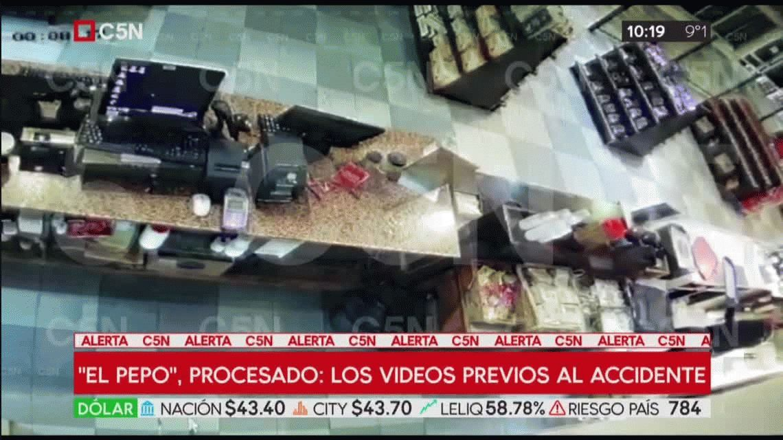 Los videos previos al accidente que complican la situación de El Pepo