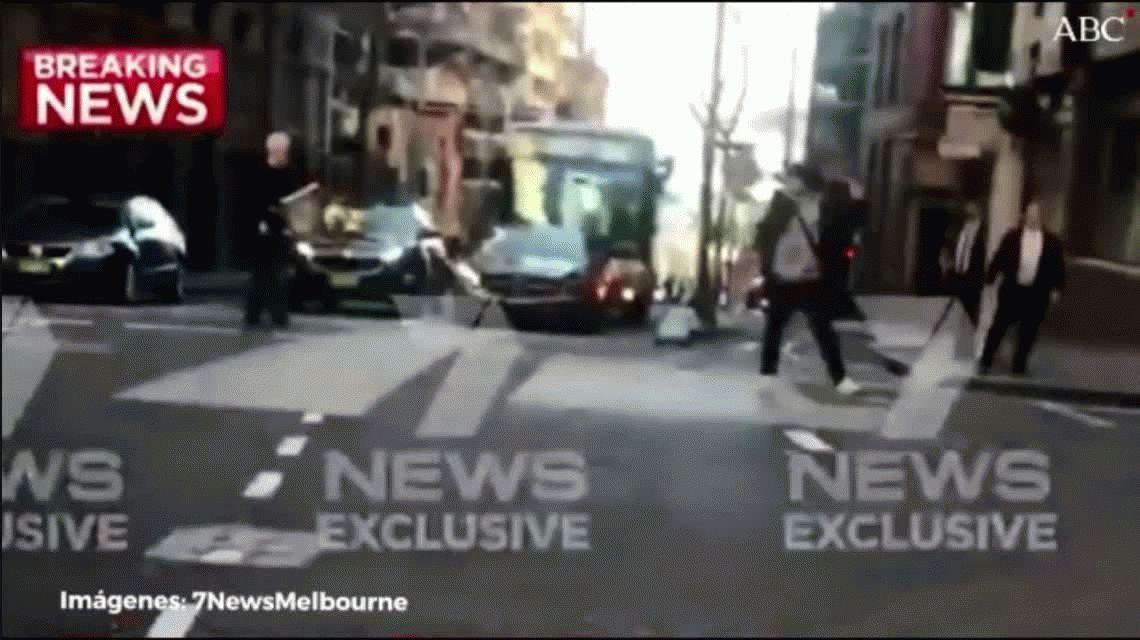 Pánico en Sidney: un hombre asesinó a una mujer a puñaladas en pleno centro