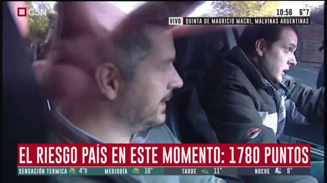 Lacunza se reunió con Macri en Los Abrojos