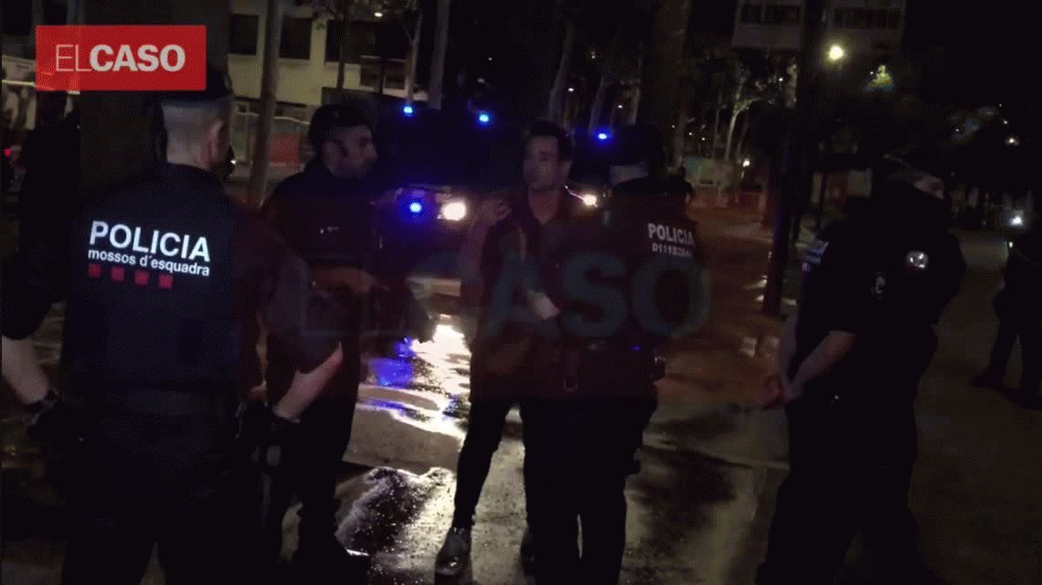 Asaltaron a Chano Charpentier en un confuso episodio en Barcelona
