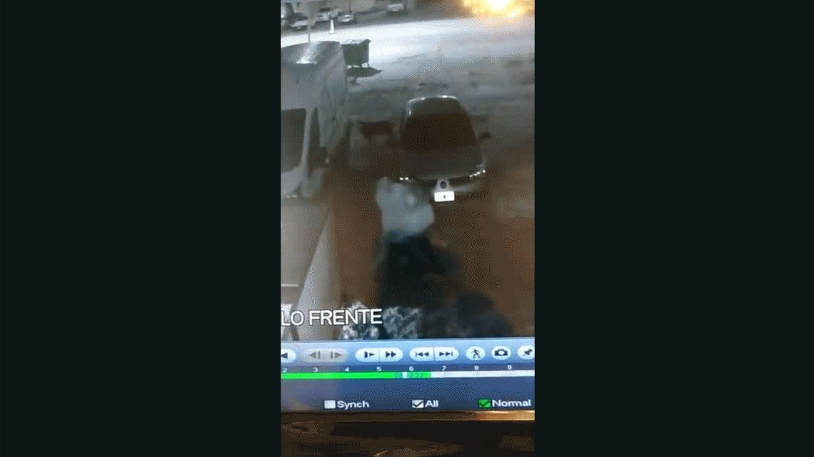 Santa Fe: brutal golpiza de un joven a su ex pareja a la salida de un boliche