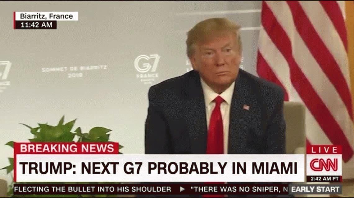 La increíble reacción de Angela Merkel cuando Donald Trump dijo tener sangre alemana