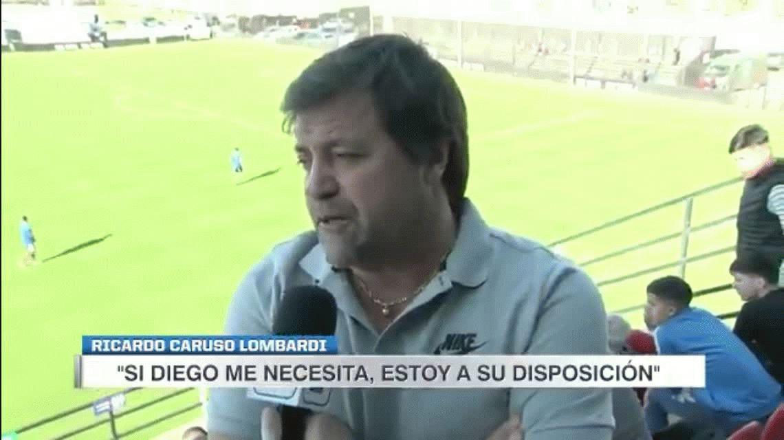 Ricardo Caruso Lombardi se ofreció para trabajar con Maradona en Gimnasia