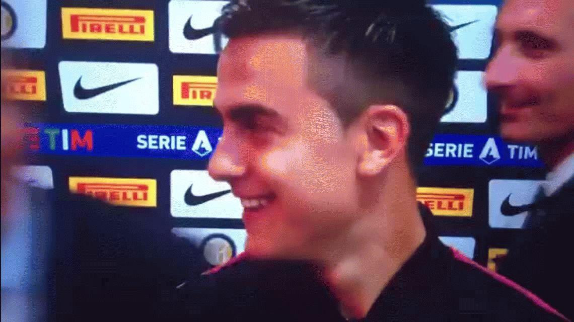 Cristiano Ronaldo se puso cariñoso con Paulo Dybala durante una entrevista