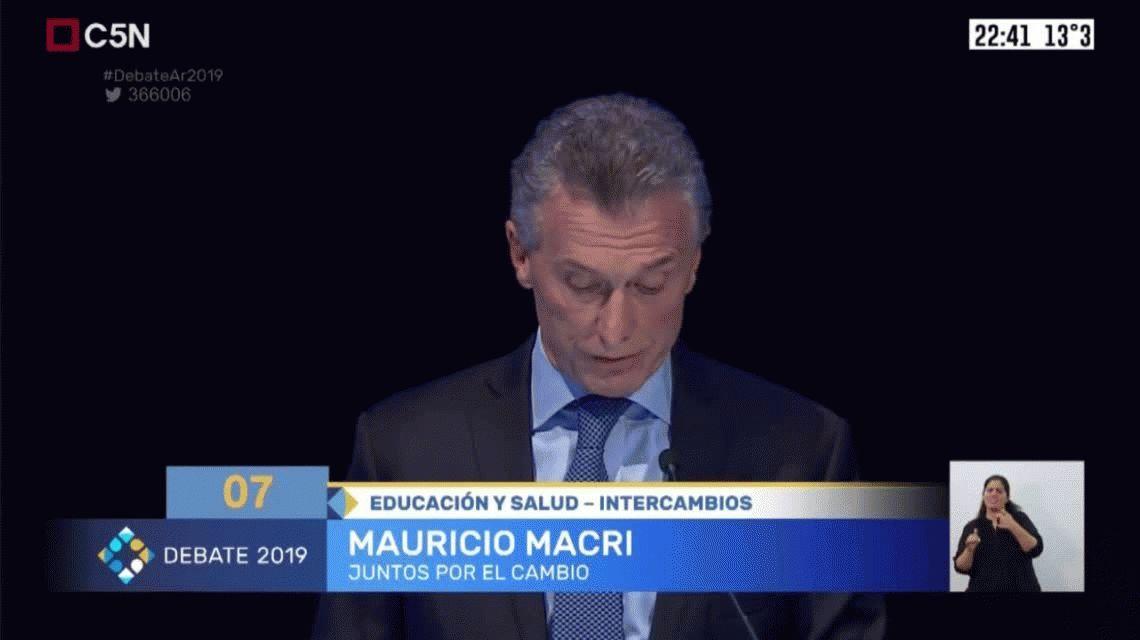 Macri admitió que Kicillof será gobernador y habló de narcocapacitación