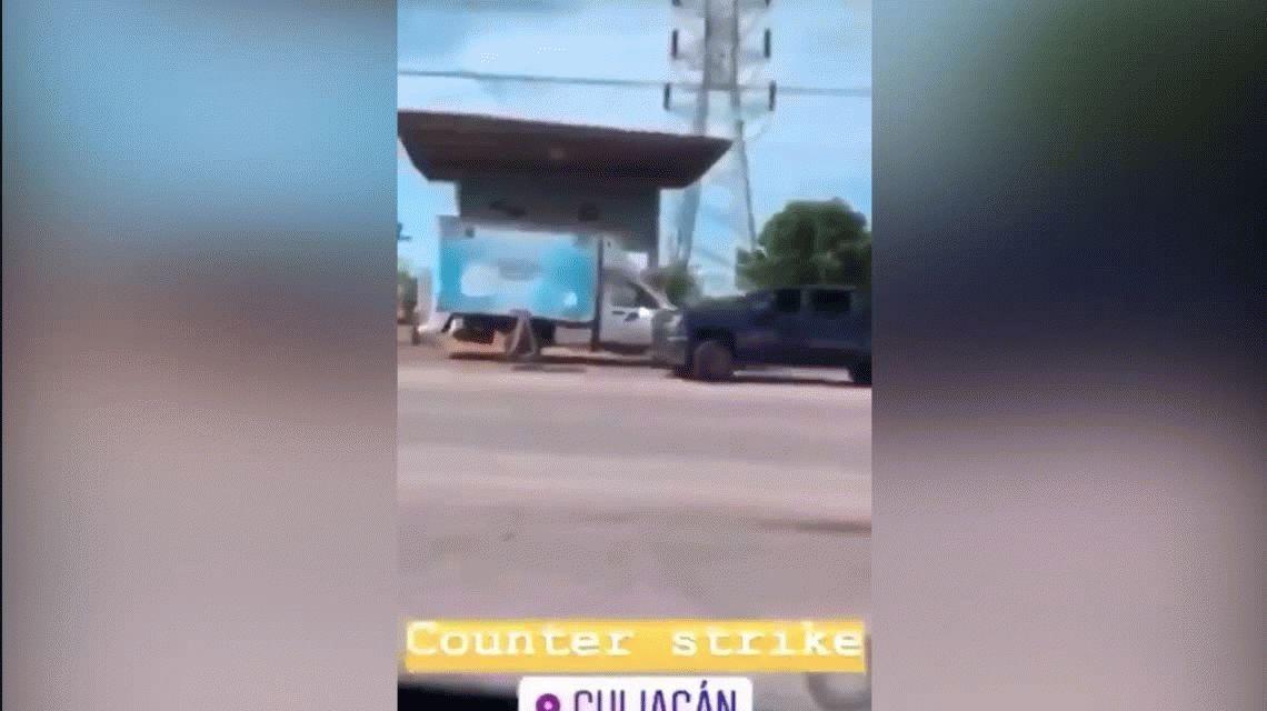 El argentino Gaspar Servio se burló en Instagram de la violencia en las calles de Sinaloa