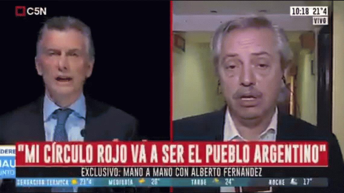 Alberto Fernández: Macri se enojó por las PASO y dejó volar el dólar, espero que no se enoje después del 27