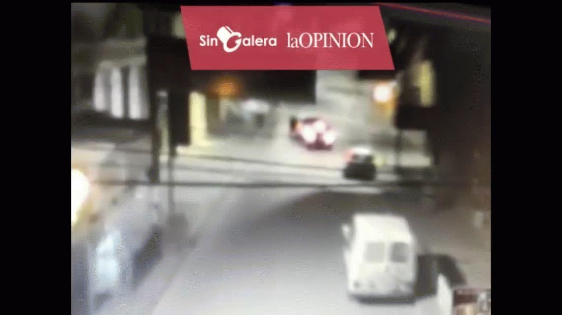 VIDEO: Una discusión de tránsito terminó en un asesinato