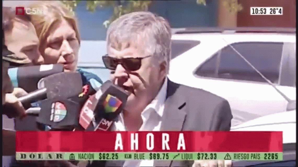 Carlos Stornelli se presentó en Dolores para prestar indagatoria ante el juez Ramos Padilla