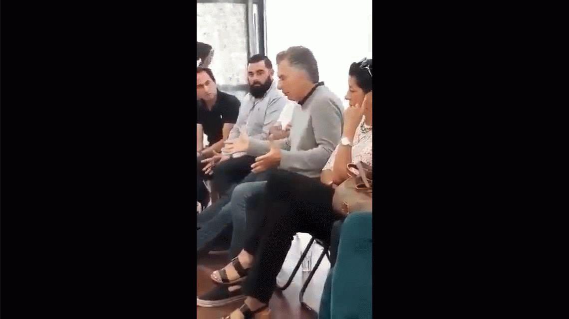 Interna en Cambiemos por la viralización del video de Macri: Siempre hay un pavo que piensa que se hará famoso