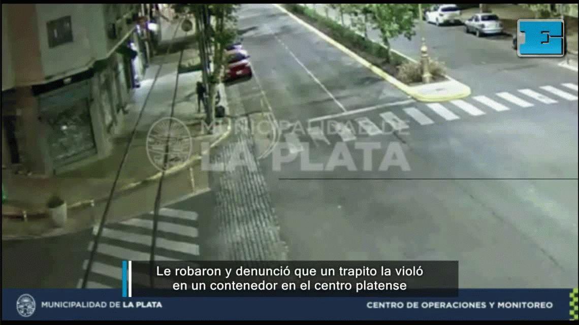 La Plata: un trapito violó a una joven en un contenedor de basura
