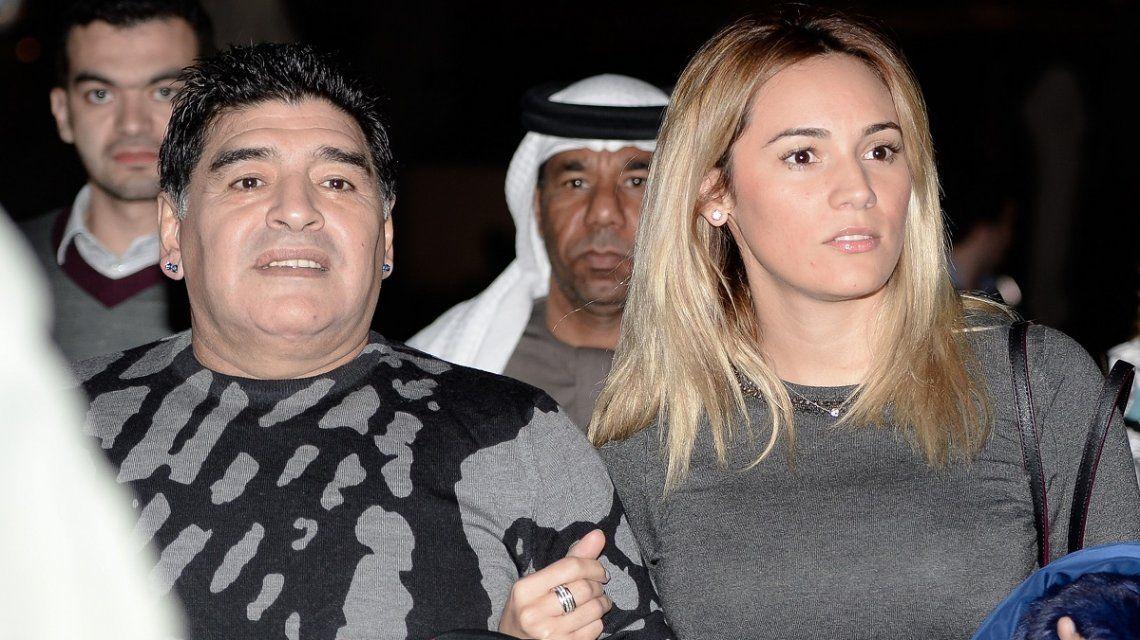 Rocío Oliva estaría embarazada de Maradona
