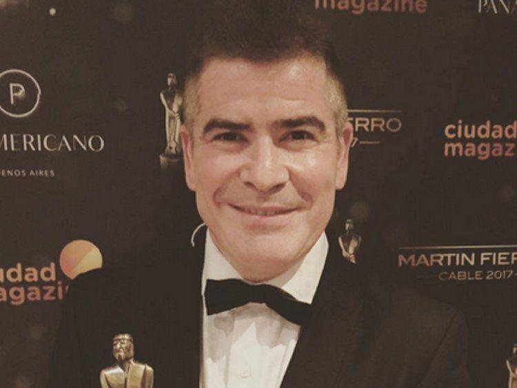 Fernando Ramírez, de C5N, ganó el Martín Fierro de Cable a mejor humorista