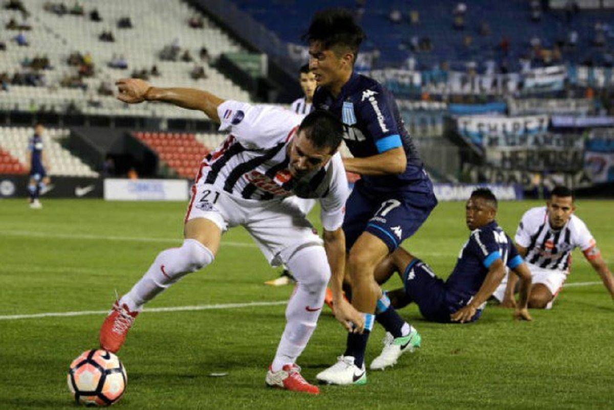 Libertad de Paraguay 1 - Racing 0 por Copa Sudamericana: goles y estadísticas