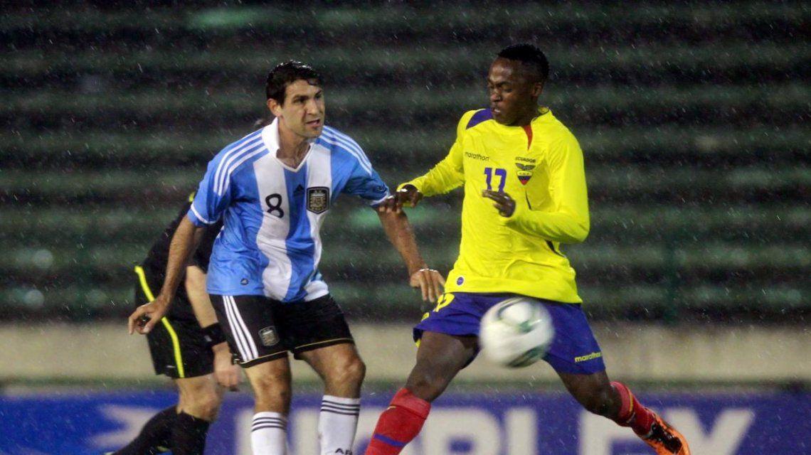 El Mago Valeri disputó algunos amistosos en la Selección