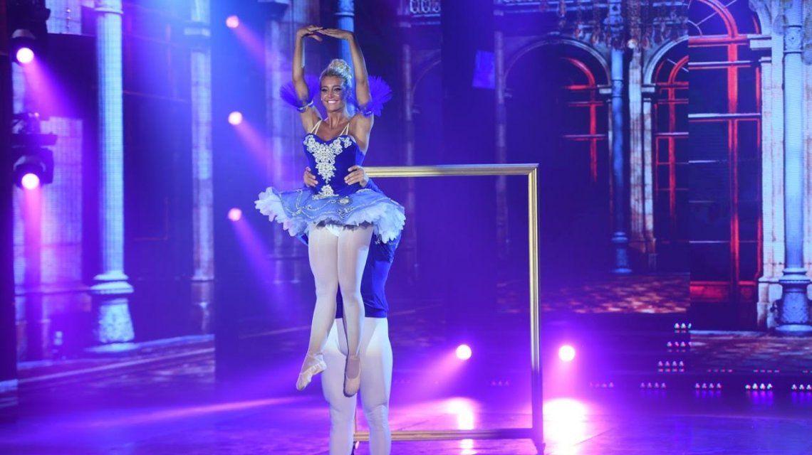 Sol Pérez no deslumbró con el ballet.